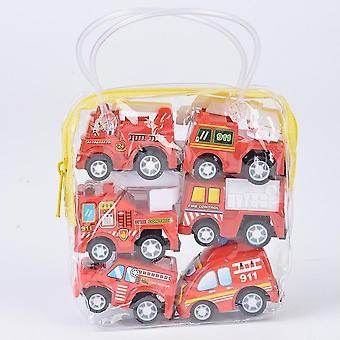 Ajoneuvon paloauto Taksi Malli Lasten Mini Autot Lelu