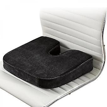 Memory Foam Seat Cushion For Car Seats Home Office & Travel  the Ultimate In Comfort   Helps With Lower Back Gift