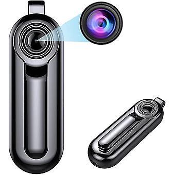 Mini cámara de vigilancia 1080P cámara espía de alta definición, vigilancia de seguridad compacta oculta
