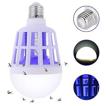 Bug Zapper Light Bulb, 2 In 1 Mosquito Killer Lamp, Electronic Insect