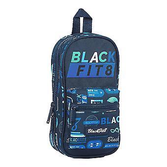 Estuche mochila Lápiz BlackFit8 Retro Azul Marino (33 Piezas)