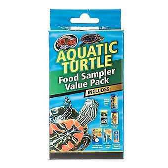 Zoo Med Aquatic Turtle Foods Sampler Value Pack - Sampler Value Pack
