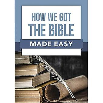 Book: How We Got the Bible Made Easy