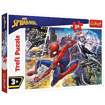 Jigsaw puzzles jigsaw puzzle floor childrens kids educational toy activity learning game 24 maxi disney marvel