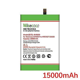 Wisecoco 15000mah Battery For Blackview Bv9500/ Bv9500 Pro Phone High Quality