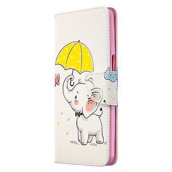 Xiaomi Redmi Note 9s/Note 9 Pro Max Fall Muster niedlichen Elefanten