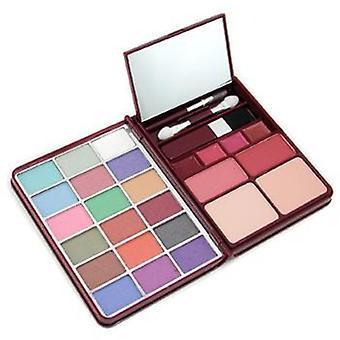 Cameleon Makeup Kit G0139 (18x Eyeshadow 2x Blusher 2x Pressed Powder 4x Lipgloss) - 2 - -
