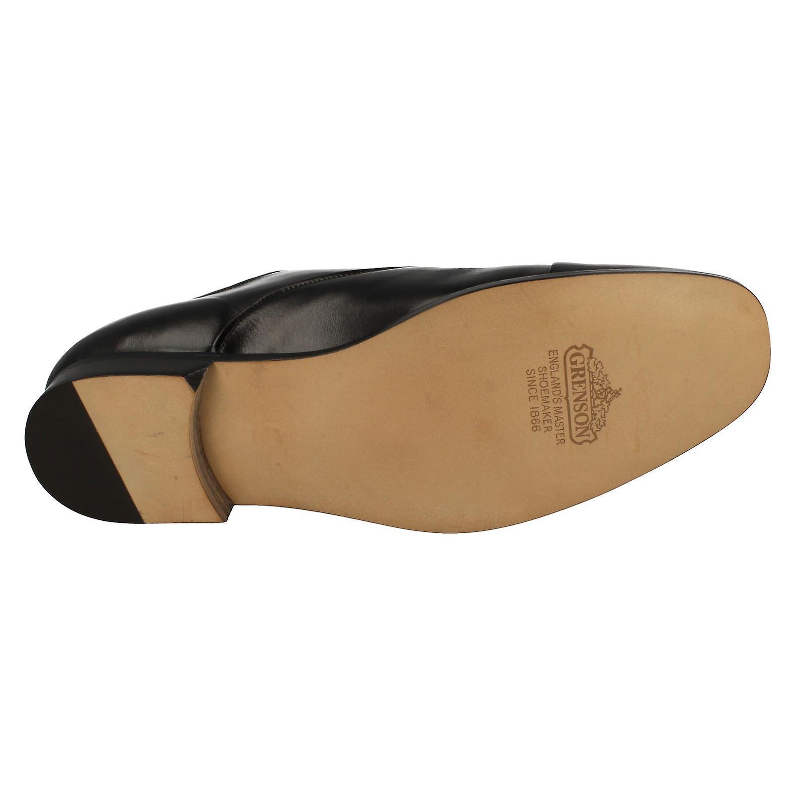 Mens Grenson Plafonné Toe Chaussures Orleans