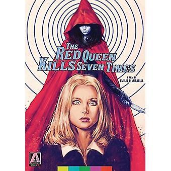 レッド クイーンを殺す 7 回 【 DVD 】 米国のインポートします。