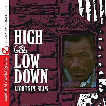 Lightnin Slim - importación de USA de alta y baja abajo [CD]