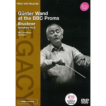 A. Bruckner - Wand at the BBC Proms [DVD] USA import
