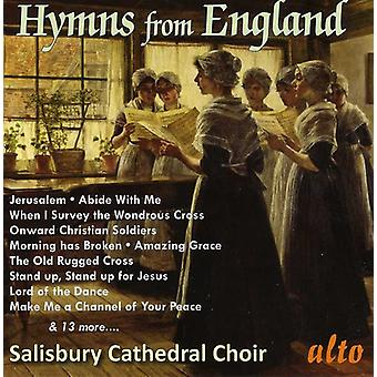 Salisbury Cathedral Choir - Hymns From England [CD] USA import