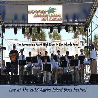 Roger 'Hurricane' Wilson - Live at the 2012 Amelia Island Blues Festival [CD] USA import