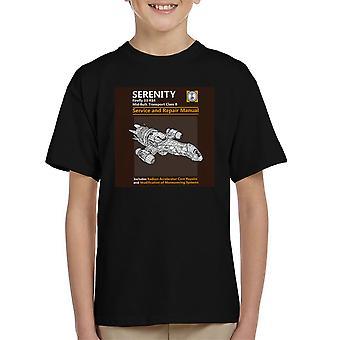 Sereniteit Service en reparatie handleiding Firefly Kid's T-Shirt