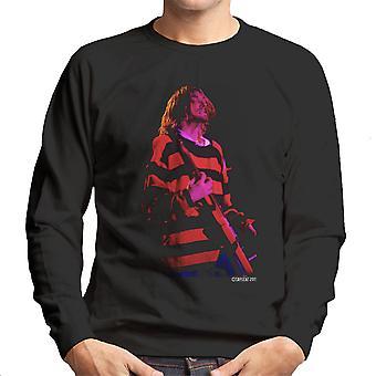 Kurt Cobain Nirvana gitarr Mäns tröja