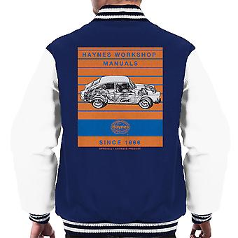 Haynes Workshop Manual 0084 VW 1600 Fastback Stripe Men's Varsity Jacket