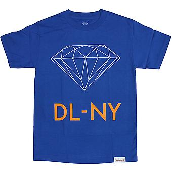 Diamond Supply Co DL-NY T-Shirt Royal