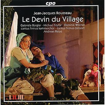 J.J. Rousseau - Rousseau: Le Devin Du Village [CD] USA import