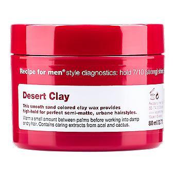 Recept voor mannen woestijn Clay 80ml