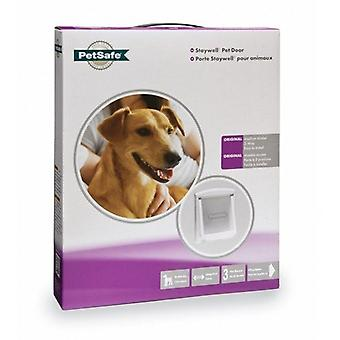 Staywell Original Pet Door Medium White 740 suitable for medium dogs