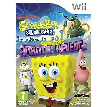 SpongeBob SquarePants planktons Robotic Revenge (Nintendo Wii)-nieuw