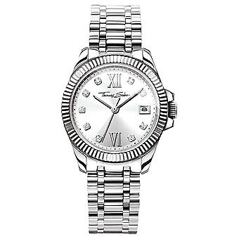 Thomas Sabo Women-apos;s Divine Stainless Steel Bracelet Silver Dial WA0252-201-201-33