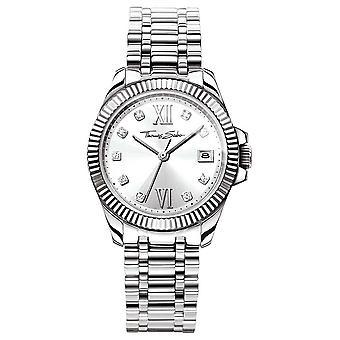 Thomas Sabo Women's Divine Stainless Steel Bracelet Silver Dial WA0252-201-201-33