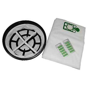 "12"" Cloth Filter + 10 x Vacuum Bags + Fresheners Fits HENRY"