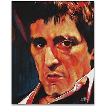 Pacino Poster Poster Print by Stephen Fishwick