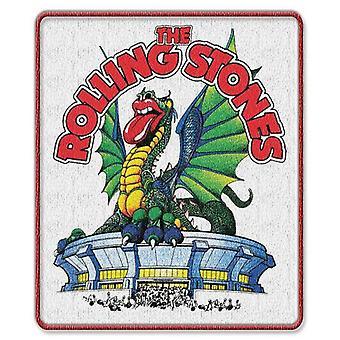 De Rolling Stones Patch Dragon bandlogo nieuwe officiële opstrijkbare (9 cm x 7,4 cm)