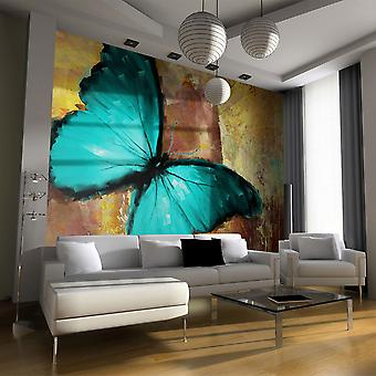 Fototapete - Painted butterfly