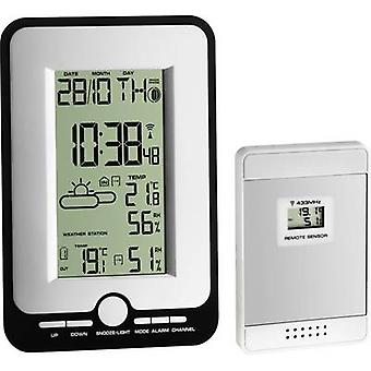 TFA Dostmann MULTY 35.1134.10 Wireless digital weather station Forecasts for 12 to 24 hours