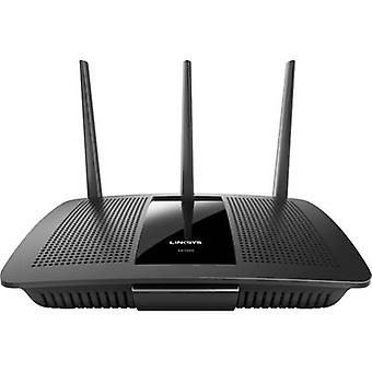Linksys EA7500 Wi-Fi router 2.4 GHz, 5 GHz 1.9 Gbps