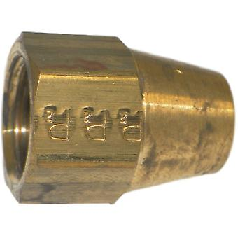 Big A Service Line 3-14105 Brass Long Nut 5/16""