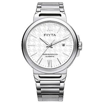 FIYTA Solo Automatic Stainless Steel White Dial Sapphire GA852000.WWW Watch