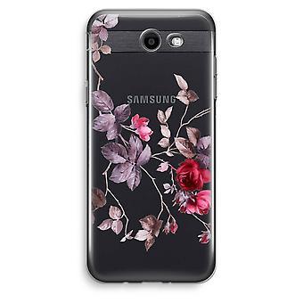 Samsung Galaxy J3 Prime (2017) przezroczysty (Soft) - piękne kwiaty
