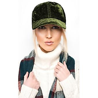 IKRUSH Womens Mariella Velour Cap