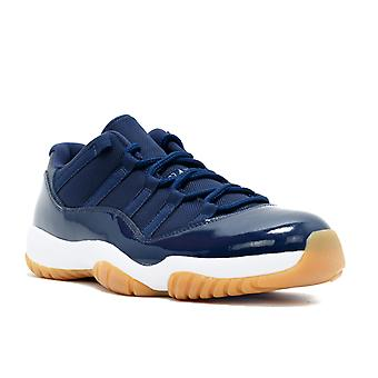 Air Jordan 11 Retro Low 'Navy Gum' - 528895-405 - Shoes