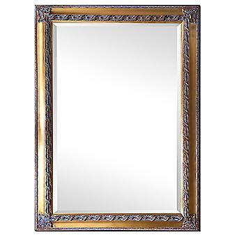 مرآة في الذهب، والأبعاد الخارجية 76x106 سم