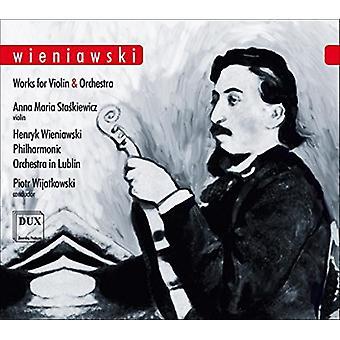 Wieniawski / Staskiewicz / Wijatkowski - Works for Vln & Orch [CD] USA import