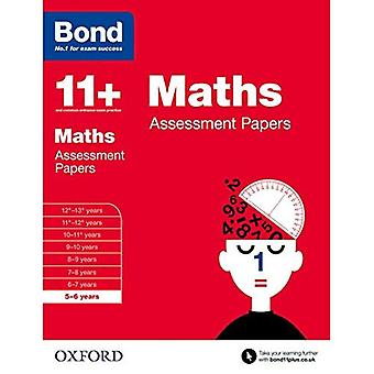 Bond 11+: Maths: Assessment Papers: 5-6 years
