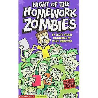 Night of the Homework Zombies (Graphic Sparks)