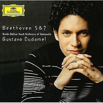 L.V. Beethoven - Beethoven: Symphonies Nos. 5 & 7 [CD] USA import