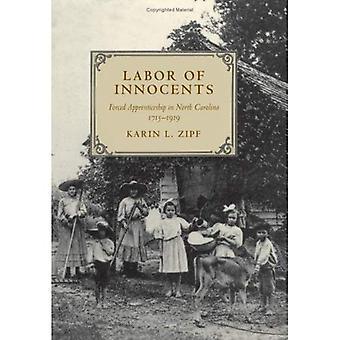 Arbeid van onschuldigen: gedwongen leerlingwezen in Noord-Carolina, 1715-1919