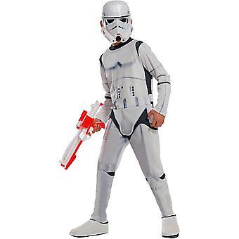 Stormtrooper kostume til børn fra Star Wars