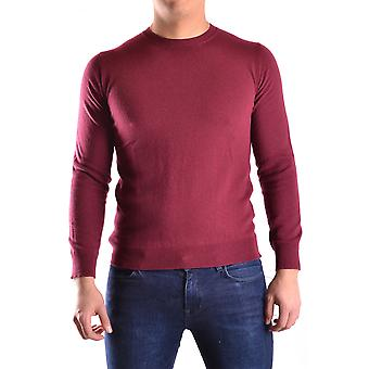 Daniele Alessandrini Ezbc107009 Men's Burgundy Viscose Sweater