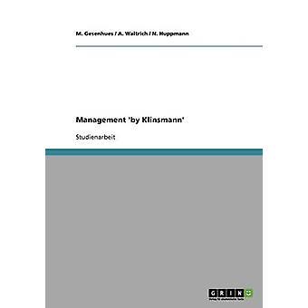 Management von Klinsmann durch Gesenhues & M.