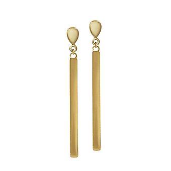 Éternelle Collection Eldorado Gold Tone chute Clip boucles d'oreilles