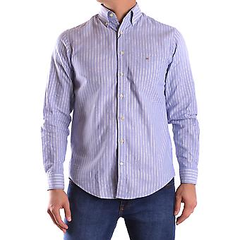 Gant Ezbc144066 Men's Light Blue Cotton Shirt
