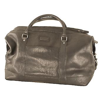 Ashwood Men's Large Leather Weekend Bag